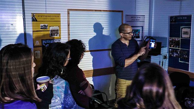 סדנה צילום תאורה בימוי מצלמה הכנה לסרט גמר אמיתי קרני